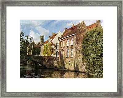 Picturesque Bruges Framed Print by Juli Scalzi