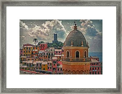 Picturesque Cinque Terre Framed Print by Hanny Heim