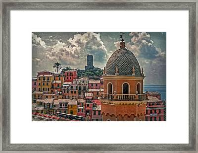 Picturesque Cinque Terre Framed Print