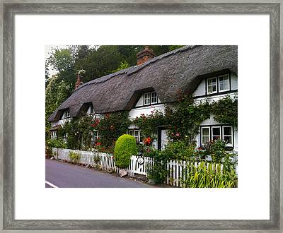 Picturesque Cottage Framed Print