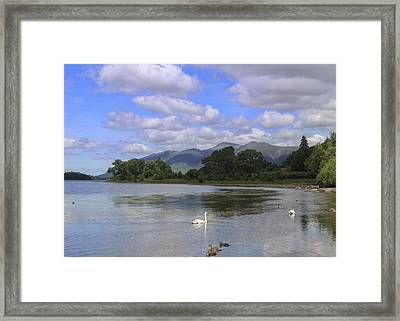 Picturesque Lake District Framed Print