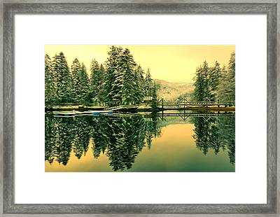 Picturesque Norway Landscape Framed Print by Lanjee Chee