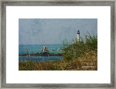 Pidgeon Point Lighthouse Framed Print by Kay Pickens