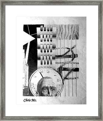 Piece Of Mind Framed Print by Chris Mc
