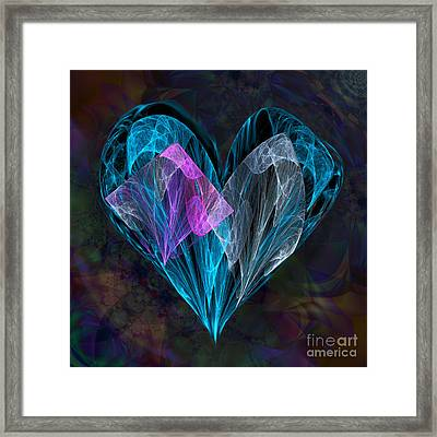 Piece Of My Heart Framed Print by Ursula Freer
