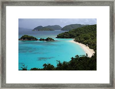 Piece Of Paradise Framed Print by Fiona Kennard