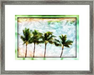 Pieced Paradise Framed Print