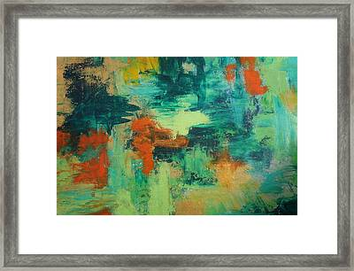 Pieces Framed Print