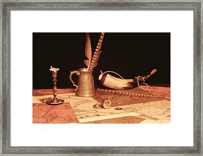 Pieces Of Eight  Framed Print