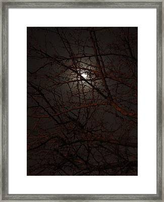 Pieces Of The Moon Framed Print by Guy Ricketts