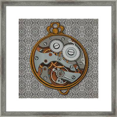 Pieces Of Time Framed Print