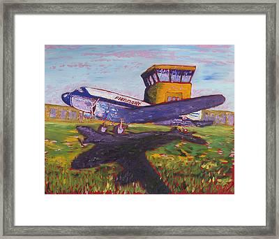 Piedmont Airlines Framed Print by Preston Sandlin
