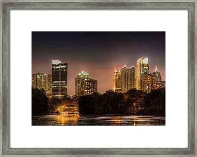 Piedmont Park Lake Framed Print