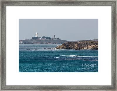 Piedras Blancas Lighthouse A2155 Framed Print by Stephen Parker