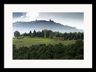 Pastoral Vineyards Photographs Framed Prints