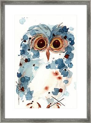 Pier 1 Owl Framed Print by Dawn Derman