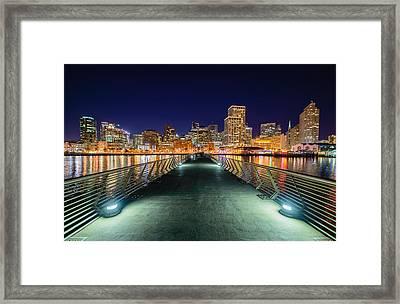Pier 14 Framed Print