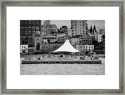 Pier 45 Hudson River Park New York City Framed Print by Joe Fox