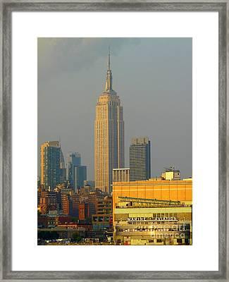 Pier 57 Framed Print by Avis  Noelle