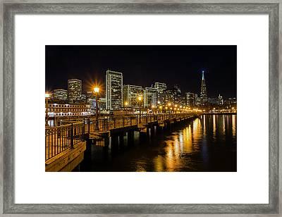 Pier 7 Framed Print