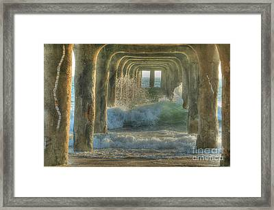 Pier Arches Framed Print