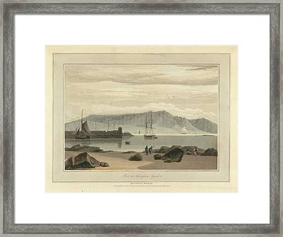Pier At Ardrossan In Ayrshire Framed Print by British Library