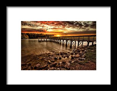Piers Framed Prints
