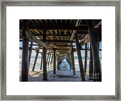 Pier Clemente Framed Print by Baywest Imaging