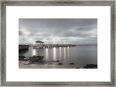 Pier II Framed Print