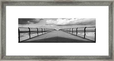 Pier Of Saltburn-by-the-sea Framed Print by Ian Cumming