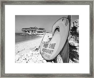 Pier One Framed Print