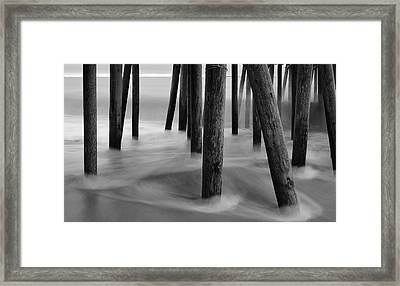 Pier Pressure Framed Print by Paul Noble