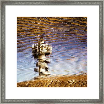Pier Tower Framed Print by Dave Bowman