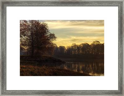 Pierce Island Framed Print by Eric Gendron