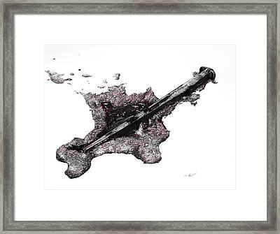 Pierced  Framed Print by Aaron Spong