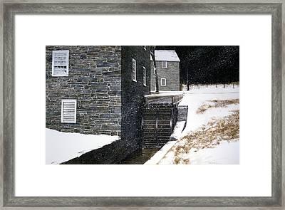 Pierce's Wheel Framed Print by Tom Wooldridge