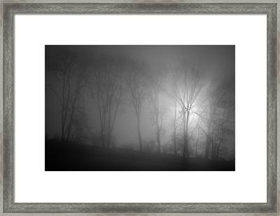 Piercing Light Framed Print