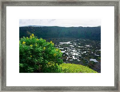 Piercing Sunlight Framed Print