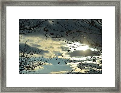 Piercing The Clouds Framed Print by Sonali Gangane
