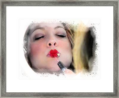 Piercings Framed Print