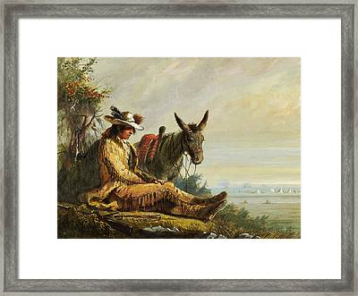 Pierre Framed Print by Alfred Jacob Miller