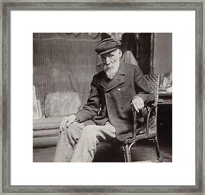 Pierre Auguste Renoir In 1910 Framed Print