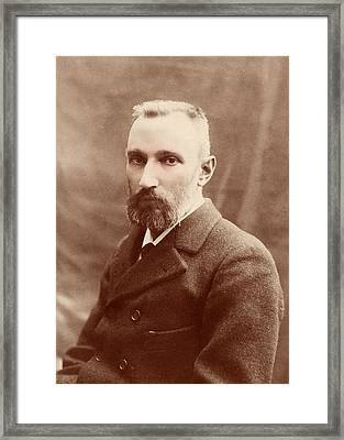 Pierre Curie Framed Print by American Philosophical Society