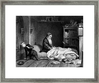 Pierre De La Ramee Known As Petrus Framed Print by Mary Evans Picture Library