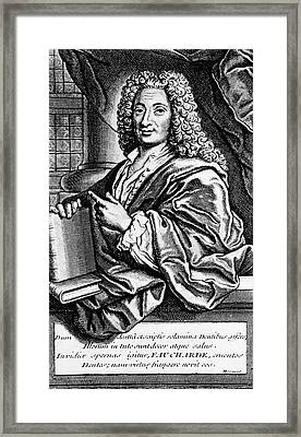 Pierre Fauchard Framed Print by National Library Of Medicine