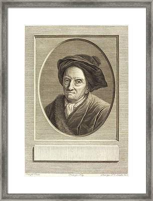 Pierre Gabriel Langlois After Guillaume Voiriot Framed Print by Litz Collection
