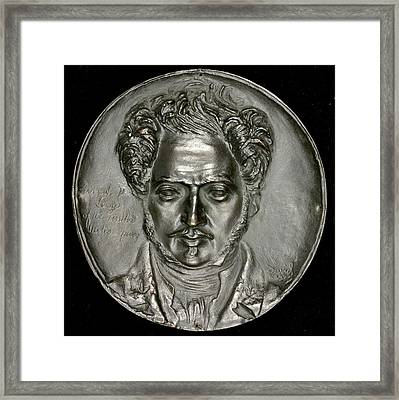Pierre-jean David Dangers Framed Print by Litz Collection