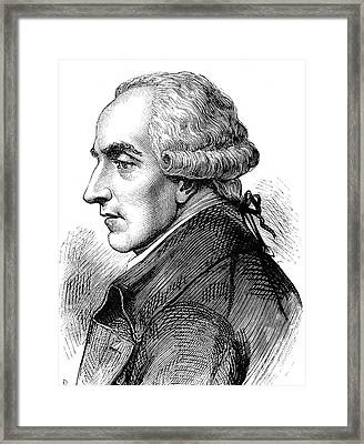 Pierre Laplace Framed Print by Collection Abecasis
