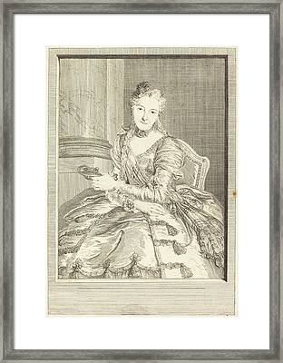 Pierre Louis De Surugue After Charles-antoine Coypel French Framed Print