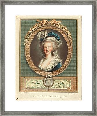 Pierre-michel Alix After Elisabeth-louise Vigée Le Brun Framed Print